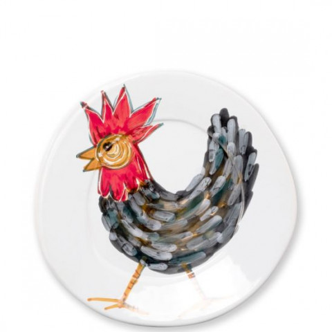 Fortunata Rooster Dinnerware   Gracious Style