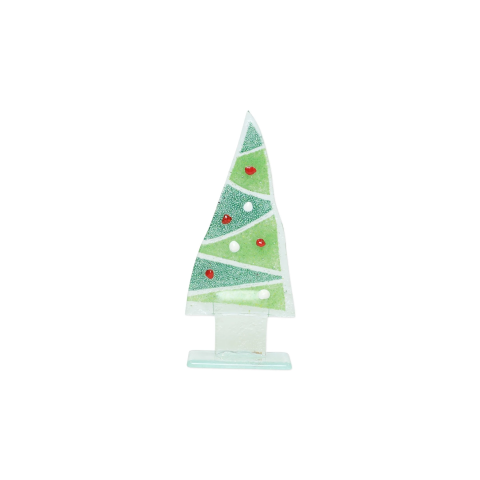 Glass Trees And Angels Zigzag Small Tree - 2.75 in. w, 7 in. h | Gracious Style