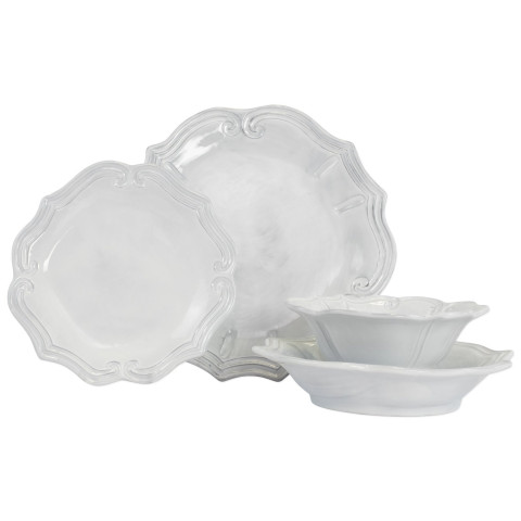 Incanto Baroque Four-piece Place Setting - 7.25 in. -11 in. d | Gracious Style