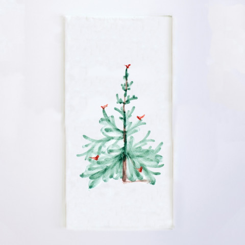 "Lastra Holiday Guest Towels (Pack Of 16) 15.75""L, 13""W 