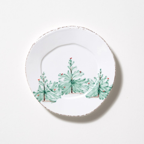Lastra Holiday Salad Plate - 8.75 in. d | Gracious Style