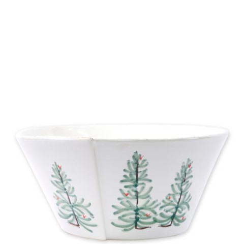 Lastra Holiday Large Stacking Serving Bowl - 10.5 in. d, 5 in. h | Gracious Style