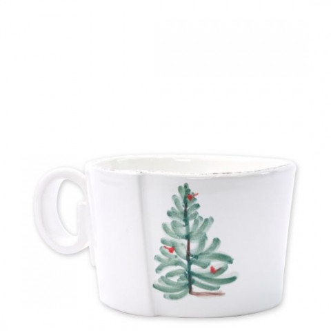 Lastra Holiday Jumbo Cup - 4.75 in. d, 3.25 in. h | Gracious Style
