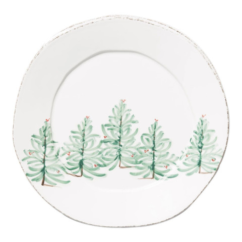Lastra Holiday Round Platter | Gracious Style