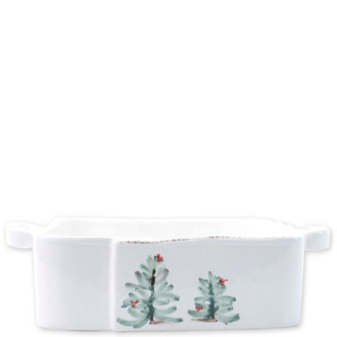 Lastra Holiday Square Baker - 11.5 in. l, 8.5 in. w, 3 in. h | Gracious Style