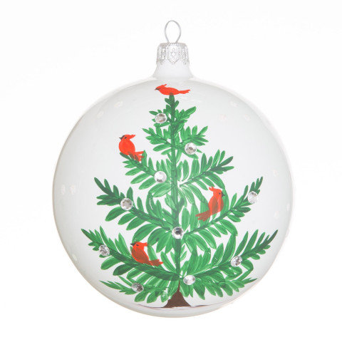 Lastra Holiday Tree Ornament - 4 in. d | Gracious Style