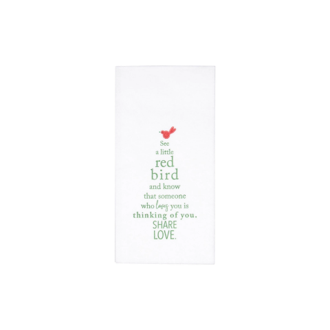 Papersoft Napkins Holiday Tree Guest Towels (Pack Of 20) - 7.75 in. l, 4.5 in. w (Folded) 15.75 in. l, 13 in. w (Flat) | Gracious Style