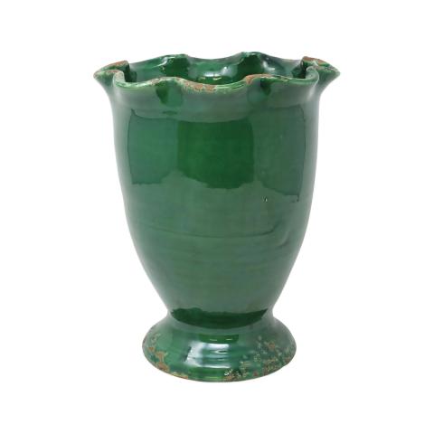 Rustic Garden Emerald Green Planters | Gracious Style