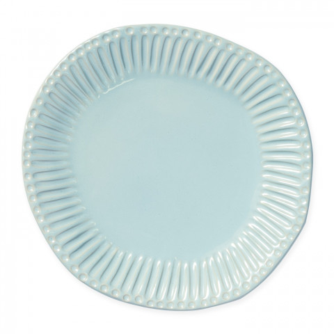 Incanto Stone Aqua Stripe Dinner Plate - 11 in. d | Gracious Style