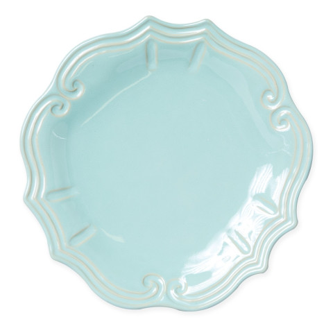 Incanto Stone Aqua Baroque Dinner Plate - 11 in. d | Gracious Style