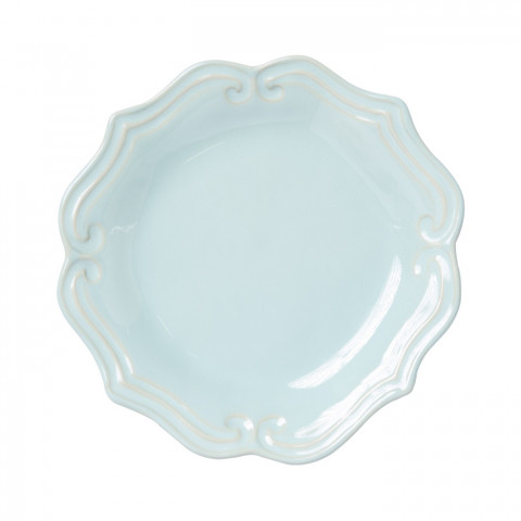 Incanto Stone Aqua Baroque Salad Plate - 8.75 in. d   Gracious Style