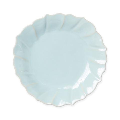 Incanto Stone Aqua Ruffle Salad Plate - 8.5 in. d   Gracious Style