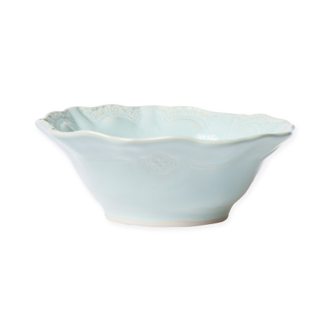 Incanto Stone Aqua Lace Cereal Bowl - 7 in. d, 2.5 in. h | Gracious Style