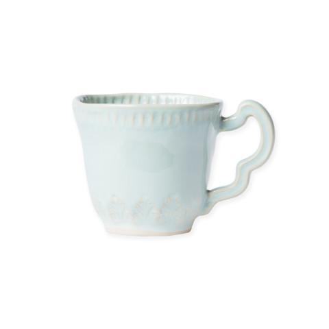Incanto Stone Aqua Leaf Mug - 3.25 in. h, 10 Oz | Gracious Style