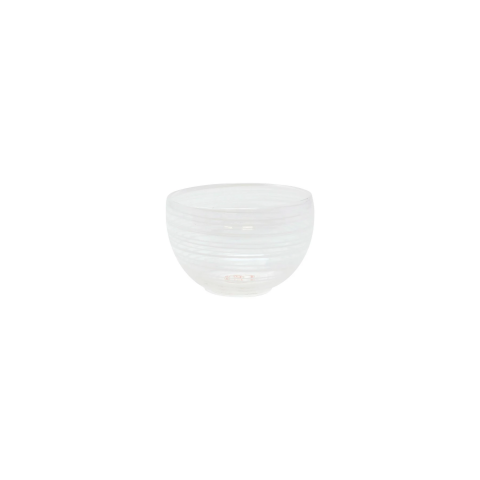 Swirl White Small Bowl - 3.5 in. d, 2.5 in. h   Gracious Style