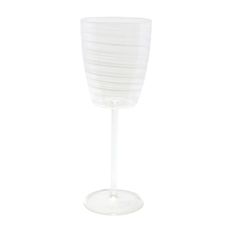 Swirl White Wine Glass - 9.5 in. h, 11 Oz | Gracious Style