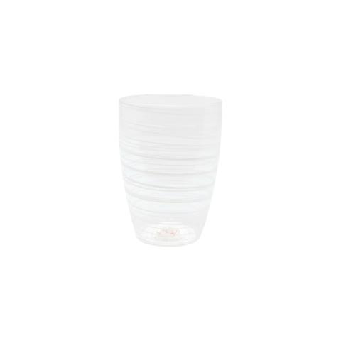 Swirl White Tall Tumbler - 4.5 in. h, 12 Oz | Gracious Style