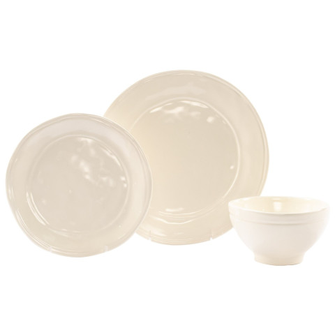 Fresh Linen 3-piece Place Setting - 6 in. -10.75 in. d | Gracious Style