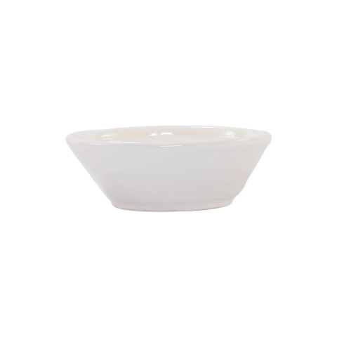 Fresh Linen Small Oval Bowl - 6.75 in. l, 5.5 in. w, 2.25 in. h | Gracious Style