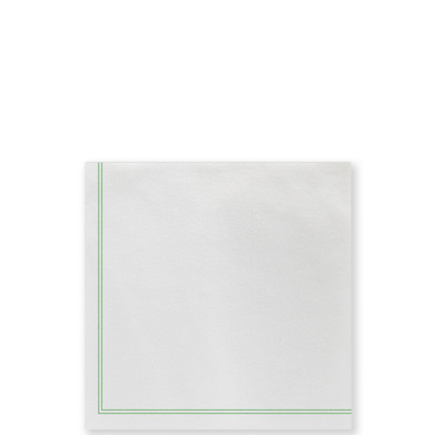Papersoft Napkins Linea Green | Gracious Style
