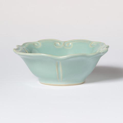 Incanto Stone Aqua Baroque Cereal Bowl   Gracious Style