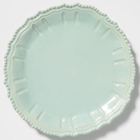 Incanto Stone Aqua Baroque Round Platter | Gracious Style