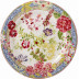 Millefleurs Dessert Plates 8 2/3 In Dia, Set of 4 | Gracious Style