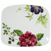 Millefleurs Organic Square Plate Medium 9 11/16'' X 8 3/8 '' | Gracious Style