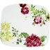 Millefleurs Organic Square Plate Large 11 5/8 In X 10 7/16 In | Gracious Style