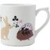 Le Secret Mug Animals 10 Oz | Gracious Style