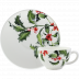 Holly Tea Cup & Saucer Cup 3 3/4 in. , 6 Oz, Saucer 6 in.  Dia | Gracious Style