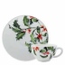 Holly Tea Saucer 6 in.  Dia | Gracious Style