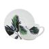 Jardins Extraordinaires Vegetal Jumbo Cup & Saucer 11 Oz - 7 1/2 in.  Dia   Gracious Style