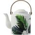 Jardins Extraordinaires Vegetal Japanese Teapot 30 7/16 In Oz - '6 In H   Gracious Style
