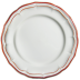Filet Rouge Canape Plate 6 1/2 In Dia | Gracious Style