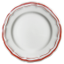 Filet Rouge Dessert Plate 9 In Dia | Gracious Style