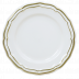 Filet Or/Gold Canape Plate 6 1/2