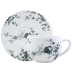 Les Oiseaux Jumbo Cup & Saucer 15 1/4 Oz - 7 1/2 in.  Dia | Gracious Style