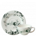 Les Oiseaux Breakfast Cups & Saucers  Cup 4 5/16 in. , 10 1/8 Oz, Saucer 7 1/16 in.  Dia Set Of 2 | Gracious Style