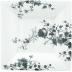 Les Oiseaux Square Candy Tray Xl 8 3/4
