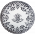 Les Depareillees Large Wall Platter Monogram 24