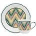Dominote Espresso Cups & Saucers  2 7/8 in.  Oz, 5 1/2 in.  Dia Set Of 2 | Gracious Style