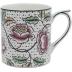 Dominote Mug Roses 10 Oz | Gracious Style