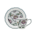 Dominote Us Tea Cup & Saucer 3 3/8 Dia, 5 15/16 in.  Oz - 6 in.  Dia | Gracious Style