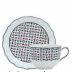 Dominote Jumbo Saucer 7 3/8 in.  Dia | Gracious Style