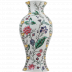 Dominote Handpainted Japanese Potiche Floral 18 7/8 in.  H - 9 1/16 in.  Dia | Gracious Style