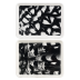 """Chambord Small Rectangular Trays Assorted 51/2"""" X 45/16"""" Set Of 2   Gracious Style"""