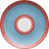 Giardino Dei Semplici Celeste Azzurro (Blue) Rectangular Vide Poche 6 X 7.5 In   Gracious Style