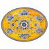 "Benidorm Melamine 16"" Oval Platter | Gracious Style"