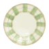 Olive Striped Service Plate/charger - 13.25 in. d | Gracious Style